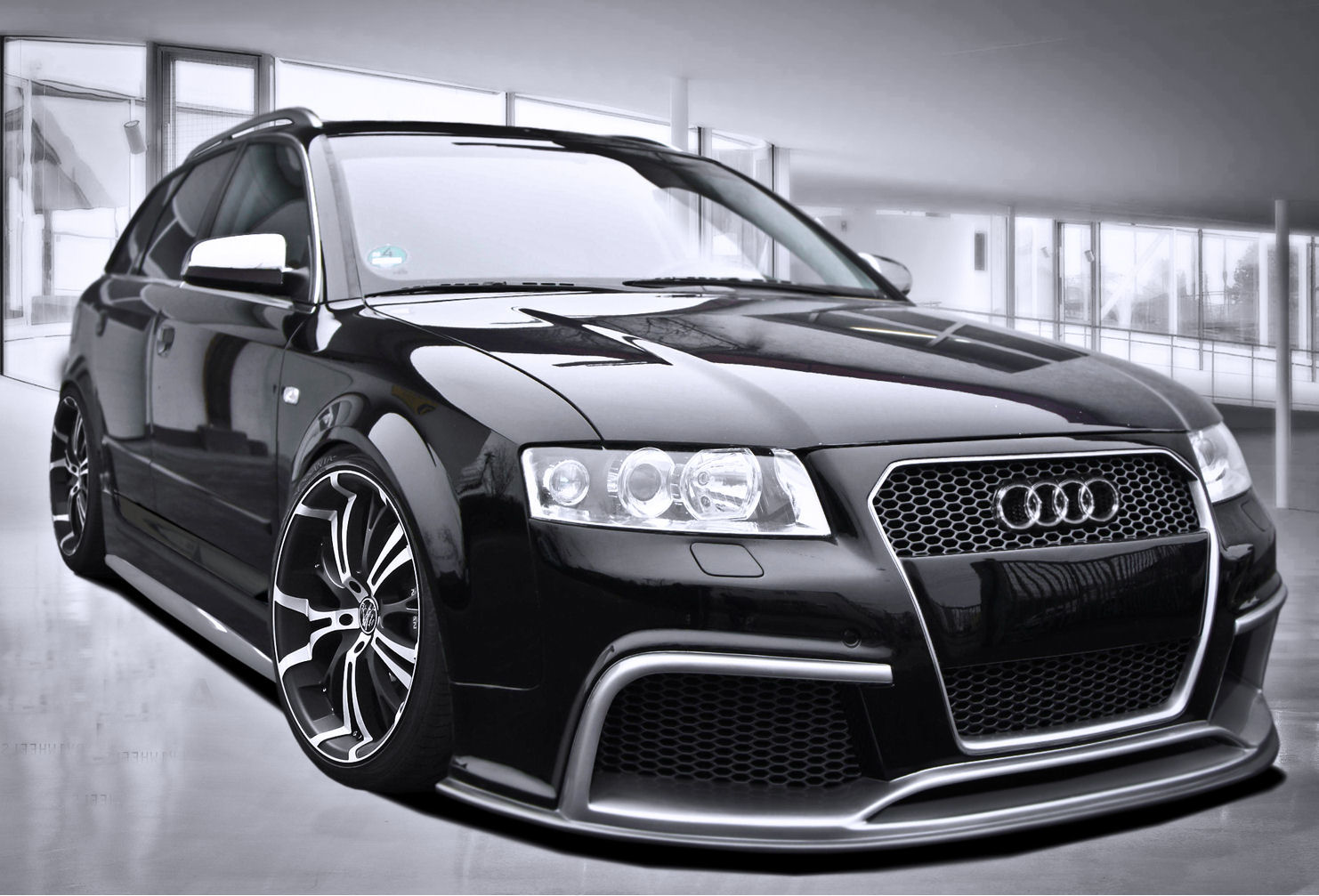 B6 8e Rs Style Complete Body Kit For Audi A4 Avant Wagon 02 05 144999